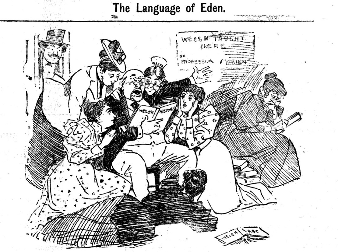 Language of Eden Cardiff University Archives Barbier 3